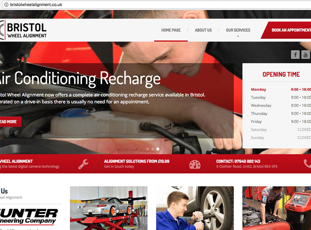 bath-website-design-bristol-wheel-alignment